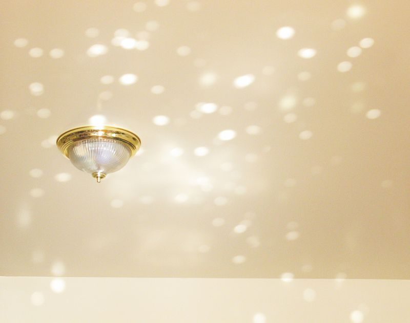 Sparkly ceiling