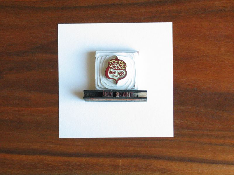 Acorn stamp how-to