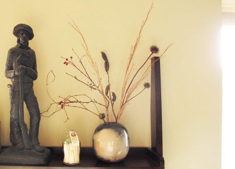 Brian's vase 1 in situ
