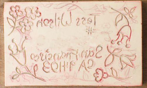 Tess' stamp